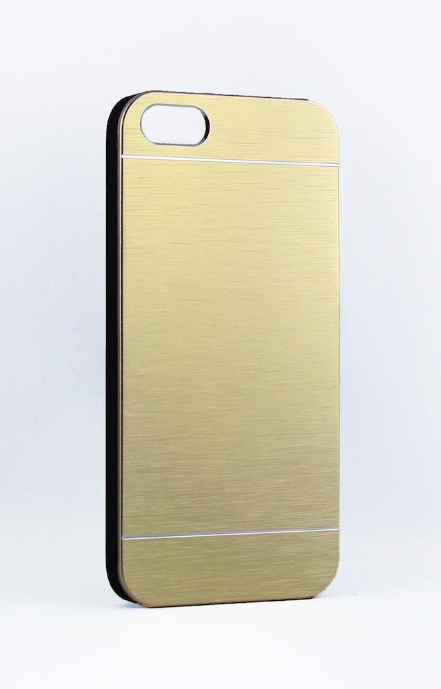 Iphone 5s Hülle Metallic Gold Lasergun Graviertechnik