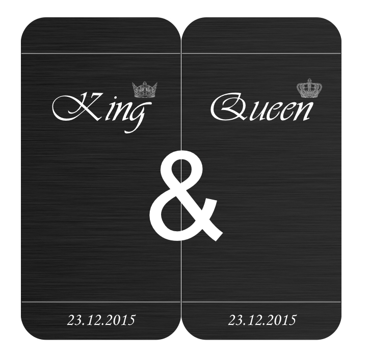 Partnerhülle-King_Queen-Case